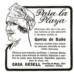 Para la playa #1920 #argentina #buenosaires #ads #vintage