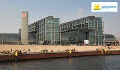 Der neue und hochmoderne Berliner Hauptbahnhof. www.schulfahrt.de #Hauptbahnhof #Berlin #Klassenfahrten
