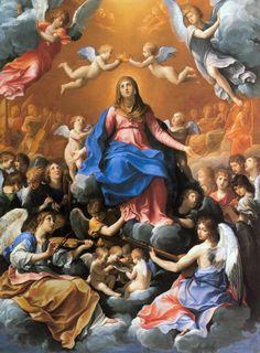 incoronazione3.jpg (800×1086) Coronation of the Virigin Mary - Guido Reini