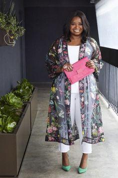 15 Chic Plus Size Outfits mit einem Kimono - Outfit Ideen 15 Chic Plus Size Outfits mit einem Kimono Look Plus Size, Dress Plus Size, Plus Size Women, Plus Size Outfits, Plus Size Fashion For Women Summer, Plus Size Tips, Plus Size Spring Work Outfits, Women's Plus Size Style, Best Plus Size Dresses