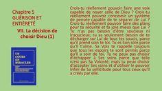 Section VII - La décision de choisir Dieu by Pierrot Caron via slideshare