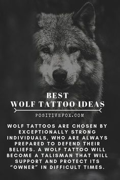 Wolf Tattoos are chosen by exceptionally strong individuals, who are always prepared to defend their beliefs. Best Wolf Tattoo Ideas for Men and Women. tattoo ideas Best 100 Wolf Tattoo Ideas - Wolf Tattoo Design Ideas with Meaning Wolf Pack Tattoo, Small Wolf Tattoo, Tattoo Wolf, Two Wolves Tattoo, Wolf Tattoo Back, White Wolf Tattoo, Wolf Sleeve, Wolf Tattoo Sleeve, Arrow Tattoo