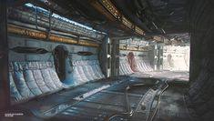 "ArtStation - Sci-fi interior concept ""Awakening"", Vladislav Kudrya"