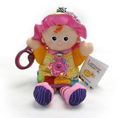 $16.99 -  My Friend Emily is a Lamaze Play & Grow character that comes with multiple textures and sounds to keep baby entertained.  • Baby?s first doll features a rattle necklace! • Comes with a Lamaze link to take wherever you go.• DIMENSIONS 12.5 X 7.25 X 3.5View more dolls here!