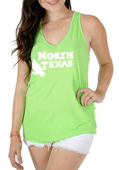 The sun won't hold you back when you wear this Baylor Bears Juniors Katie Tank Top! Rally House has a great selection of new and exclusive Baylor Bears t-shirts, hats, gifts and apparel, in-store and online. Green Bear, Green Tank Top, Bear T Shirt, Sleeveless Shirt, Neon Green, Athletic Tank Tops, Bears, Campaign, How To Wear