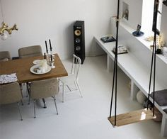 Stephanie Rammeloo's amazing home in Amsterdam - Bloesem Estilo Interior, Indoor Swing, Interior And Exterior, Interior Design, Nordic Home, Scandinavian Interior, Decoration, Interior Inspiration, Home Goods