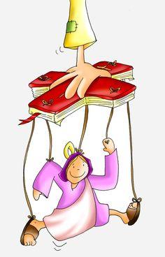 Hágase en mí según tu Palabra. Jesus Cartoon, Black Ponytail Hairstyles, Vibrant Hair Colors, Creative Colour, Different Hairstyles, Bible Stories, Sunday School, Princess Peach, Black Hair