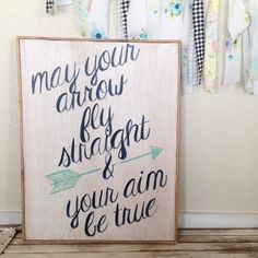 May Your Arrow Fly Straight & Your Aim Be by AverieLaneBoutique