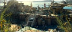 military base concept art - Google Search