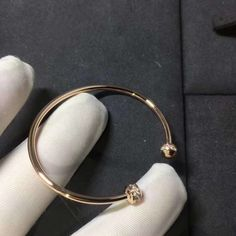 7731d4e9cdf Piaget Possession Open Bangle Bracelet in 18kt Rose Gold with Diamonds Piaget  Jewelry