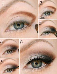 Top 10 Makeup Tutorials For Seductive Eyes, [High 10 Make-up Tutorials For Seductive Eyes Love this eyeshadow concept Love this eyeshadow concept. Love Makeup, Makeup Tips, Makeup Looks, Makeup Tutorials, Eyeshadow Tutorials, Makeup Ideas, Easy Makeup, Simple Makeup, Makeup Trends