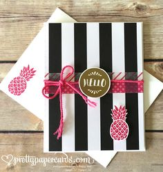Stampin' Up! Pop of Paradise, Pop of Pink, prettypapercards.com