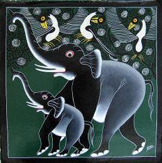 Tinga Tinga Art - Ibra (painter)