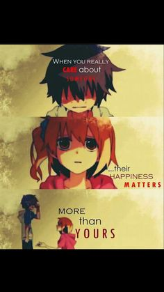 Also applies when I care about the happiness of characters (Kaneki Ken, Eren Jaeger, Natsu Gragneel, etc) Sad Anime Quotes, Manga Quotes, True Quotes, Kawaii Quotes, Epic Quotes, Deep Quotes, Strong Quotes, A Silent Voice, Anime People