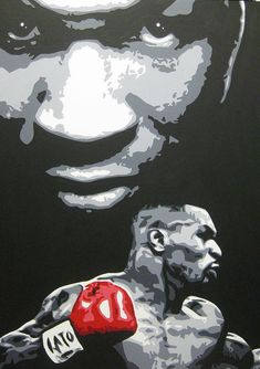 Mike Tyson Discover Mike Tyson 4 Art Print by Geo Thomson Mike Tyson 4 Art Print by Geo Thomson. All prints are professionally printed packaged and shipped within 3 - 4 business days. Choose from multiple sizes and hundreds of frame and mat options. Boxing Posters, Wrestling Posters, African American Artist, American Artists, Kick Boxing, Mike Tyson Boxing, Samurai Art, Diy Canvas Art, Stencil Art