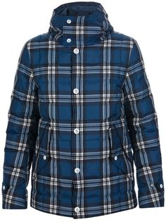 MONCLER GAMME BLEU Checked Padded Jacket