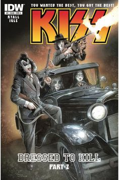 #ComicReview Kiss 2 - The first issue was good, it had a bit of the feel the Psycho Circus series had back in the 90's. But this one started to blend some 70's cheese into the story. I'd say if you are a KISS fan, you are going to expect it. If you're not, pass on it.