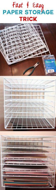 ' (via Cat's Creations) 2019 'Scrapbook paper storage solutions!' (via Cat's Creations) The post 'Scrapbook paper storage solutions!' (via Cat's Creations) 2019 appeared first on Storage ideas.