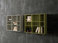 Daytona Wall Unit with Shelving Element by Sangiacomo, Italy Manufactured By San Giacomo.