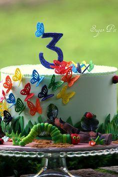 original very hungry caterpillar cake