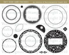 Vintage Circles, Small - Nestie friendly