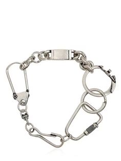 To know more about Maison Martin Margiela KEY RINGS BRACELET, visit Sumally, a social network that gathers together all the wanted things in the world! Featuring over other Maison Martin Margiela items too! Jewelry Accessories, Fashion Accessories, Jewelry Design, Crown Jewels, Bangles, Bracelets, Ring Bracelet, Rock Style, Key Rings