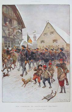Nos chasseurs en Haute-Alsace