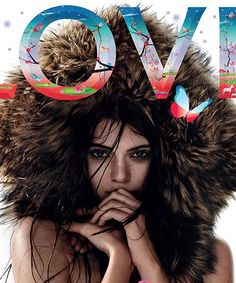 Kendall Jenner Topless Love Magazine Cover Kardashian | Kardashian sib Kendall Jenner goes topless for her latest magazine cover. #refinery29 http://www.refinery29.com/2014/07/71619/kendall-jenner-topless-love-magazine