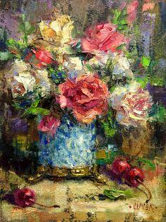 Art Talk - Julie Ford Oliver: Roses #4