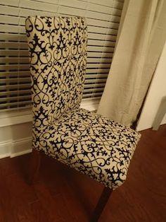 Chevron Chair Cover