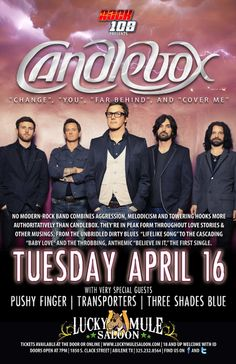 """'Candlebox' is an American rock band from Seattle. Since its formation in 1990, the group has released five studio albums, which have achieved multi-platinum and gold certification. """"You"""" also known as """"Fuck You"""" is a song  from their eponymous debut album """"Candlebox"""" (1994)."""
