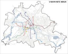Das ist übrigens der wirkliche Verlauf der Berliner U-Bahn-Linien:   28 Karten, die Dich total anders auf Berlin blicken lassen