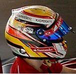 Raffaele Marciello 2014 Ferrari helmet