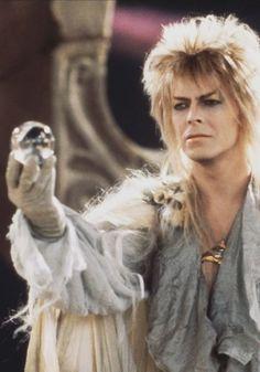 David Bowie [as Jareth the Goblin King] - Labyrinth David Bowie Labyrinth, Labyrinth 1986, David Bowie Goblin King, The Velvet Underground, Dangerous Minds, Iggy Pop, Davy Jones, Jim Henson, Martin Scorsese
