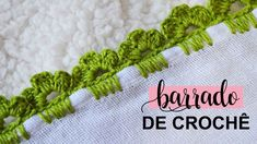 Crochet Boarders, Hand Embroidery, Blanket, Baby, Crochet Lace Edging, Crochet Baskets, Crochet Edging Patterns, Sewing Tutorials, Stitches