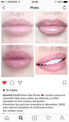 13 Best Permanent Lip Color images | Makeup lips, Permanent makeup ...