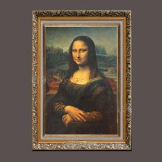 Classical Mona Lisa Hand Painted Oil Painting