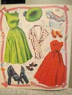 1952 Rosemary Clooney as Gloria Make-Up paper doll / eBay