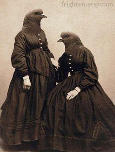 Vintage Humanimal Depictions : Mari Lowery