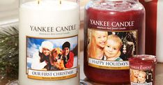 JustAddCoffee- The Homeschool Coupon Mom : Free Personalized Photo Label at Yankee Candle!
