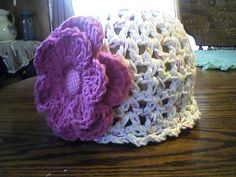 Free Crochet 30 Minute Baby Hat Pattern.