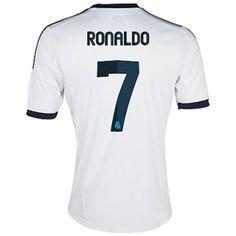81e695fea9310 Camiseta de futbol Real Madrid C.F.2012-2013 Titular Equipación(Ronaldo 7)  Soccer