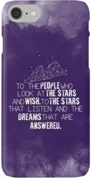 A Court of Mist & Fury - To the people who look at the stars... iPhone 7 Cases