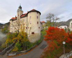 Gewerkenegg Castle at Idrija #GewerkeneggCastle #Idrija #Slovenia #placestovisit #travel #thingstodo #castle