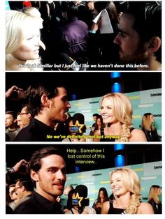"""Colin's face is like """"HELP, HELP, HELP!"""" xD"""