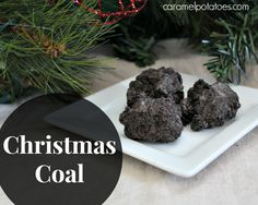 Christmas Coal repurpose for Thomas the Train party