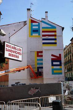 Eltono. #Workinprogress #Madrid #StreetArt #ArteUrbano #Arterecord 2015 https://twitter.com/arterecord