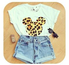 Disneyland outfit :D