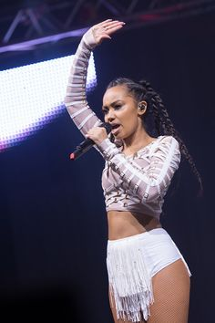 Little Mix Performing at Radio City Summer Live 2015 - July 18, 2015