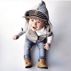 "Ⓓⓨⓛⓐⓝ Ⓙⓐⓜⓔⓢⓞⓝ på Instagram: ""Loving the latest purchases from @beau_hudson ! I think Dylan loves it all too! These jegs are #ootd #beauhudson #luckyno7 #moderntrail"" Baby Boy Fashion, Toddler Fashion, Kids Fashion, Fashion Clothes, Beau Hudson, Boy Outfits, Cute Outfits, Shirt Style, Nice Dresses"